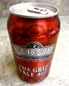 Griz Pale Ale, Fernie Brewing Company